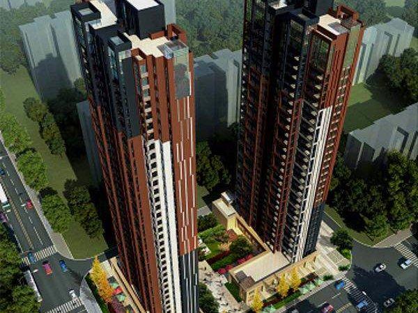 出租万达广场 秋谷宏府 3室2厅2卫2阳台105平米 2200元/月住宅