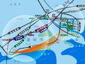 红树东岸交通图