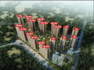 出售雅居乐花园3室2厅1卫86平米75万住宅